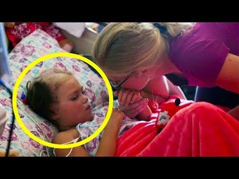 Эта умирающая девочка произнесла 7 слов, которые доказывают, что Бог существует!