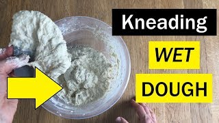 "How To ""Knead"" A SUPER WET Dough - Bread Tip 84 - Bake With Jack"