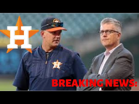 AJ Hinch and Jeff Luhnow Fired! - Astros Punishment from MLB
