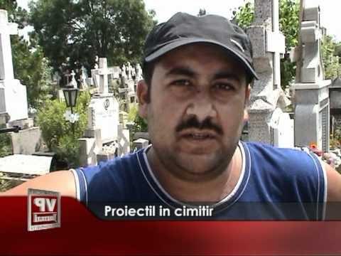 Proiectil in cimitir
