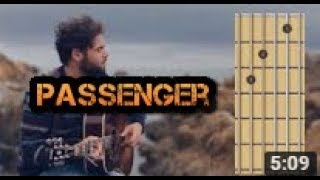 Let Her Go (passenger) guitar chords