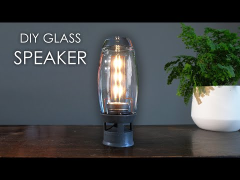 DIY Glass Speaker / Edison Light (build at home instructions)