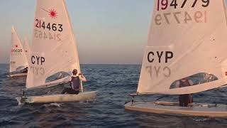 LASER STD TRAINING                NAUTICAL CLUB OF LARNACA SKYcam