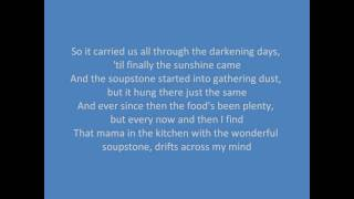 The Wonderful Soup Stone - Dr Hook