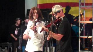 Devil Went Down to Georgia - Band from TV - NAMM 2012 - Jesse Spencer - Mark Wood