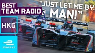 Best Team Radio Hong Kong Round 2 | Formula E