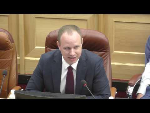 32 сессия. Проект закона Иркутской области № ПЗ-687 «О налоге на имущество организаций»