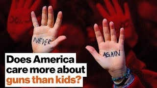 Does America care more about guns than kids? | Arne Duncan