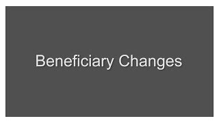 When to Change Your Beneficiary Designation After Retirement