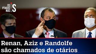 Bolsonaro diz que CPI tem três otários na cúpula
