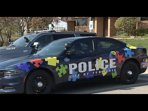 Several local police departments helping increase autism awareness