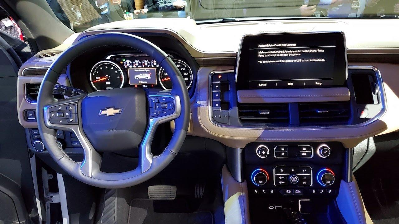 Nouvelle Chevrolet Suburban 2021 Intérieur Design Extérieur Détails Spécifications de consommation et prix