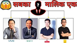 Who Is The Owner Of Realme ,Oppo , Vivo , OnePlus || What is BBK Group || Smartphones.