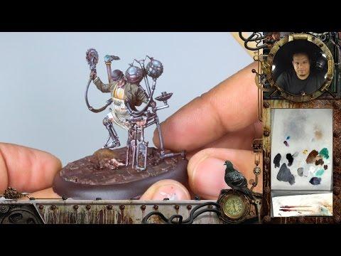 Infamy Miniatures Painting Tutorial - Dr. John Watson/TMM & Gore
