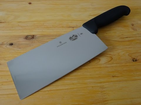 "Victorinox Chinese Chef's Knife / chinese vegetable cleaver ""cai dao"" – 5.4063.18"
