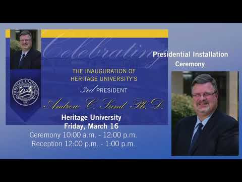 Presidential Installation Ceremony