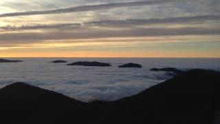 Above the Clouds at Brasstown Bald