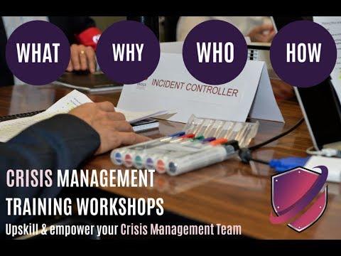 Crisis Management Training Workshops - YouTube