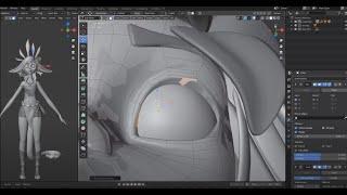 Blender - Neeko 3D Modeling Without Sculpting - Timelapse
