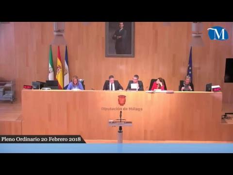 Pleno ordinario de la Diputación del mes de febrero