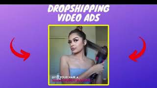 I will create shopify facebook video ads for dropshipping products