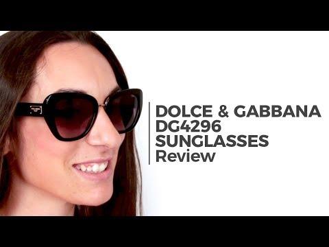Dolce & Gabbana DG4296 Sunglass Review | SmartBuyGlasses