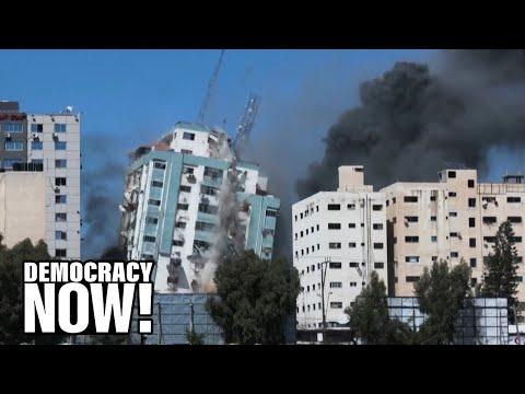 Gaza Journalist: Israel Is Deliberately Targeting the Media by Bombing AP & Al Jazeera Offices