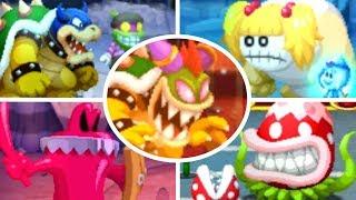 Mario & Luigi: Superstar Saga 3DS - All Bosses (No Damage)