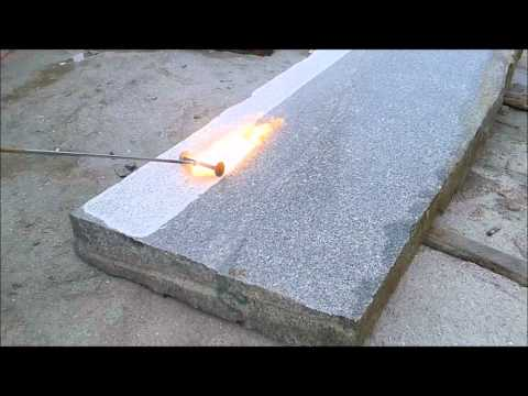 B&M GRANITY- Flammen von Platten aus  Granit / Granit-Platten (Granit aus Polen).