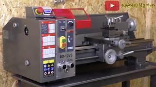 На что способен новый хоббийный токарный станок JET bd-10VS Мастерская, Металлообработка