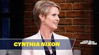 Cynthia Nixon on How She Would Fix New York City's Subways