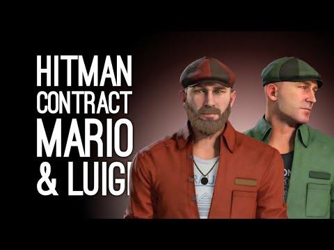 Hitman Mario and Luigi Contract: KILL MARIO in Hitman Contract Super Sibling Rivalry