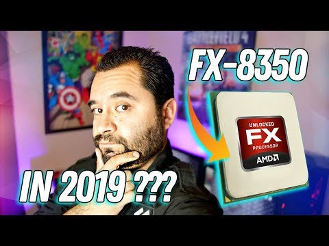 AMD FX-8350 in 2019! -- BENCHMARKS! How does it hold up?