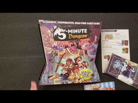 5 Minute Dungeon - Whats in the Box?