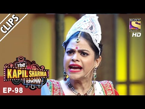 Sarla Meets Popular Bollywood Singer Shaan - The Kapil Sharma Show - 16th Apr, 2017