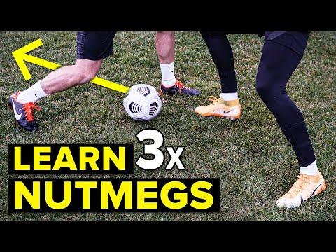 3 easy ways to nutmeg defenders | Learn panna skills