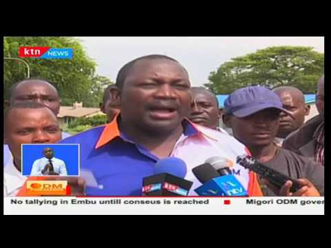 Security boosted after ODM nominations in Homa Bay