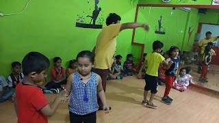 Abhi happy feet dance Aqua - Candyman (Lollipop) with Lyrics