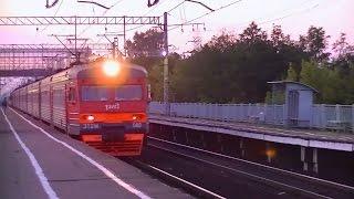 РЖД ЭТ2М-140 Клин - Москва-Ленинградская