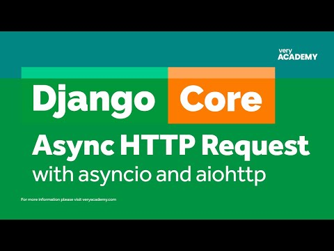 Django async HTTP requests with asyncio and aiohttp thumbnail