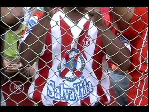 """""""Del infierno a la gloria (Vida de La Ceiba)"""" Barra: La Marea Roja • Club: Vida"""