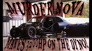 Murder Nova Makes 3200hp on the dyno!!!