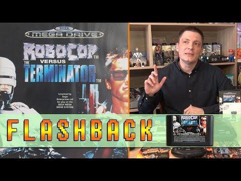 RoboCop versus The Terminator на Sega Mega Drive. Вспоминаем Старые игры 90-х / Flashback