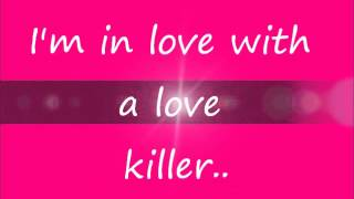 Cheryl Cole Love killer lyrics
