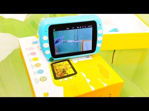 Детская фото видео камера BORUIT с мгновенной печатью / BORUIT Children's Instant Camera