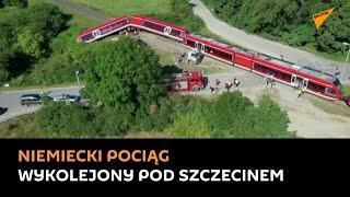 Zderzenie pociągu z ciężarówką pod Szczecinem. Co mogło być przyczyną wypadku?
