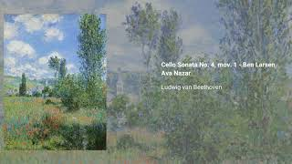 Cello Sonata no. 4 in C major, Op. 102 no. 1