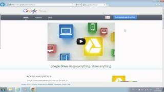How to use cloud server - Google Drive