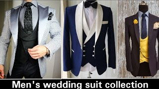 Mens Designer Wedding Suit Collection / Latest Fashionable Wedding Suit For Groom