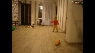 Ржака, прикол, милые безумные Танцы!!!!нам 1.5 года